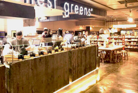HONEST GREENS CORTE INGLÉS Restaurant